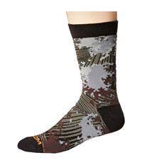 Volcom Snazzy Socks Charcoal Men's Crew Cut Socks Shoes Gray