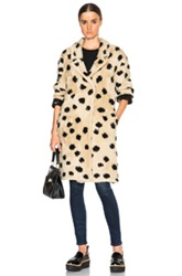 Thakoon Addition Ocelot Coat In Neutrals