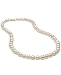 Belle De Mer Cultured Freshwater Pearl 6Mm Strand In 14K Gold White
