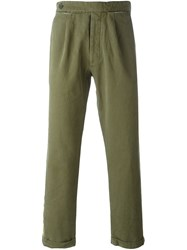 Palm Angels Side Stripe Chinos Green