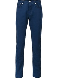 A.P.C. Slim Fit Chinos Blue