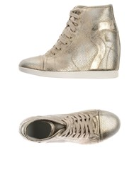Ruco Line Footwear High Tops And Trainers Women Platinum