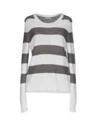 Cappellini By Peserico Sweaters Grey