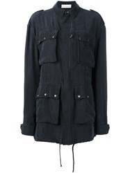 Faith Connexion Four Pocket Jacket Black
