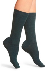 Smartwool Women's Cable Crew Socks Lochness Heather
