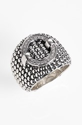 Lagos Women's 'Enso' Diamond Statement Ring Sterling Silver