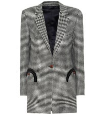 Blaze Milano Fair And Square Timeless Wool Blazer Black