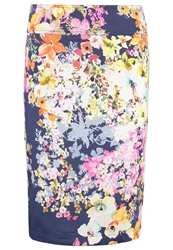 Anna Field Pencil Skirt Navy Dark Blue