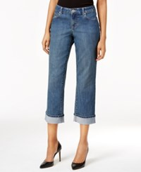 Styleandco. Style Co. Petite Curvy Oxford Wash Capri Jeans Only At Macy's