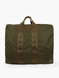 Porter Olive Two Way Duffle Bag