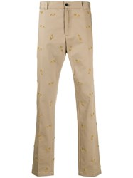 Versace Embroidered Safety Pins Trousers 60