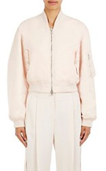 Givenchy Women's Zip Front Bomber Jacket Nude
