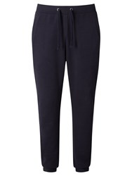 John Lewis Kin By Pique Cotton Jogging Bottoms Navy