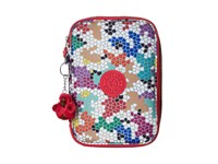 Kipling 100 Pens Print Case Spell Binder Cosmetic Case Multi
