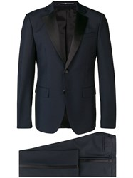 Givenchy Two Piece Dinner Suit Blue