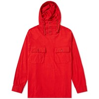 Engineered Garments Cagoule Shirt Jacket Red