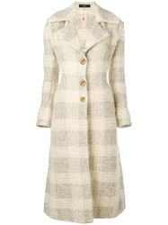 Ellery Objective Slim Coat Nude And Neutrals