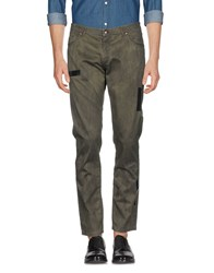 Tom Rebl Casual Pants Military Green
