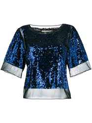 By Malene Birger 'Cosildo' T Shirt Blue