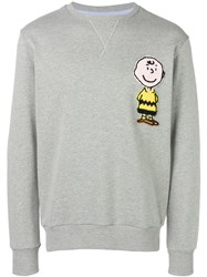 Lc23 Charlie Brown Sweatshirt Grey