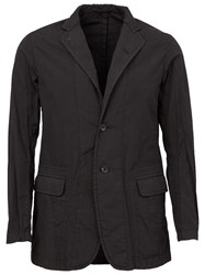 The Viridi Anne The Viridi Anne Notched Lapel Blazer Black