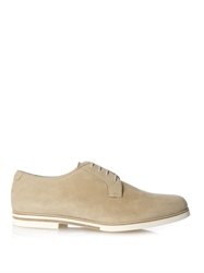 Mr. Hare Bux Lightweight Suede Derby Shoes