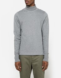 Norse Projects Bue Brushed Cotton Mouse Grey