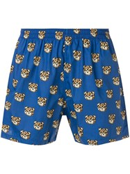 Moschino Teddy Boxers Blue