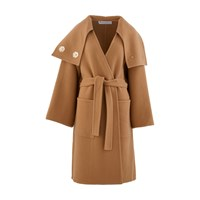 J.W.Anderson Double Breasted Wool Coat Camel