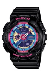 Baby G Ana Digi Watch 46Mm X 43Mm Black Pink