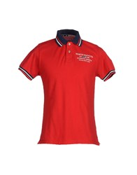 North Sails Topwear Polo Shirts Men Red