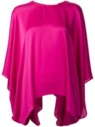Maison Rabih Kayrouz Relaxed Fit Blouse Pink And Purple