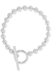Jennifer Fisher Orb Silver Plated Anklet M