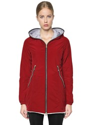 Duvetica Aceso Nylon Long Down Jacket