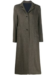 Daniela Gregis Single Breasted Coat 60