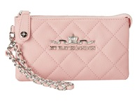 My Flat In London Westminster Wristlet Chain Pouch Pink Clutch Handbags