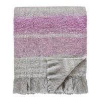 Sanderson Wisteria Falls Lilac And Grey Blanket 140X185cm
