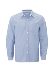 White Stuff Men's Plain Oxford Long Sleeve Shirt White