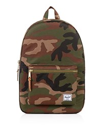 Herschel Supply Co. Classic Settlement Backpack Woodland Camo Gold