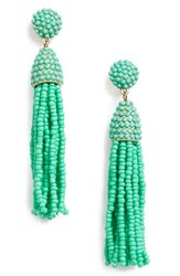 Baublebar Women's 'Pinata' Tassel Earrings Light Green