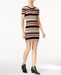 Sanctuary Louey Striped Sweater Dress Heathered Muslin