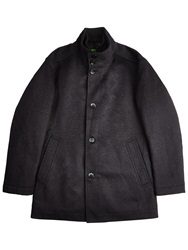 Boss Logo Boss Green Coxtan Wool Insert Coat Charcoal