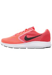 Nike Performance Revolution 3 Neutral Running Shoes Hot Punch Black Aluminum White Pink