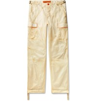 Heron Preston Parachute Piped Ripstop Cargo Trousers Neutrals