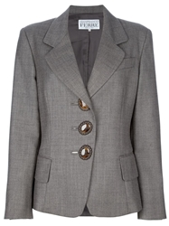 Gianfranco Ferre Vintage Blazer And Skirt Suit Brown
