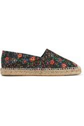 Etoile Isabel Marant Cana Printed Canvas Twill Espadrilles Multi