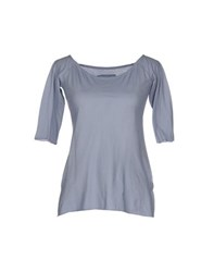 Almeria Topwear T Shirts Women Grey