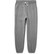 John Elliott Loopback Cotton Blend Jersey Sweatpants Anthracite