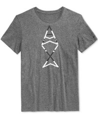 Armani Exchange Men's Ax Vertical Graphic Print Logo T Shirt T Shirt