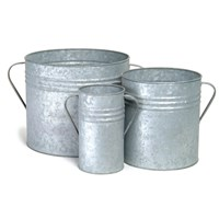 Garden Trading Set Of 3 Planters